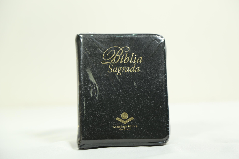 Bíblia Almeira RA com zíper