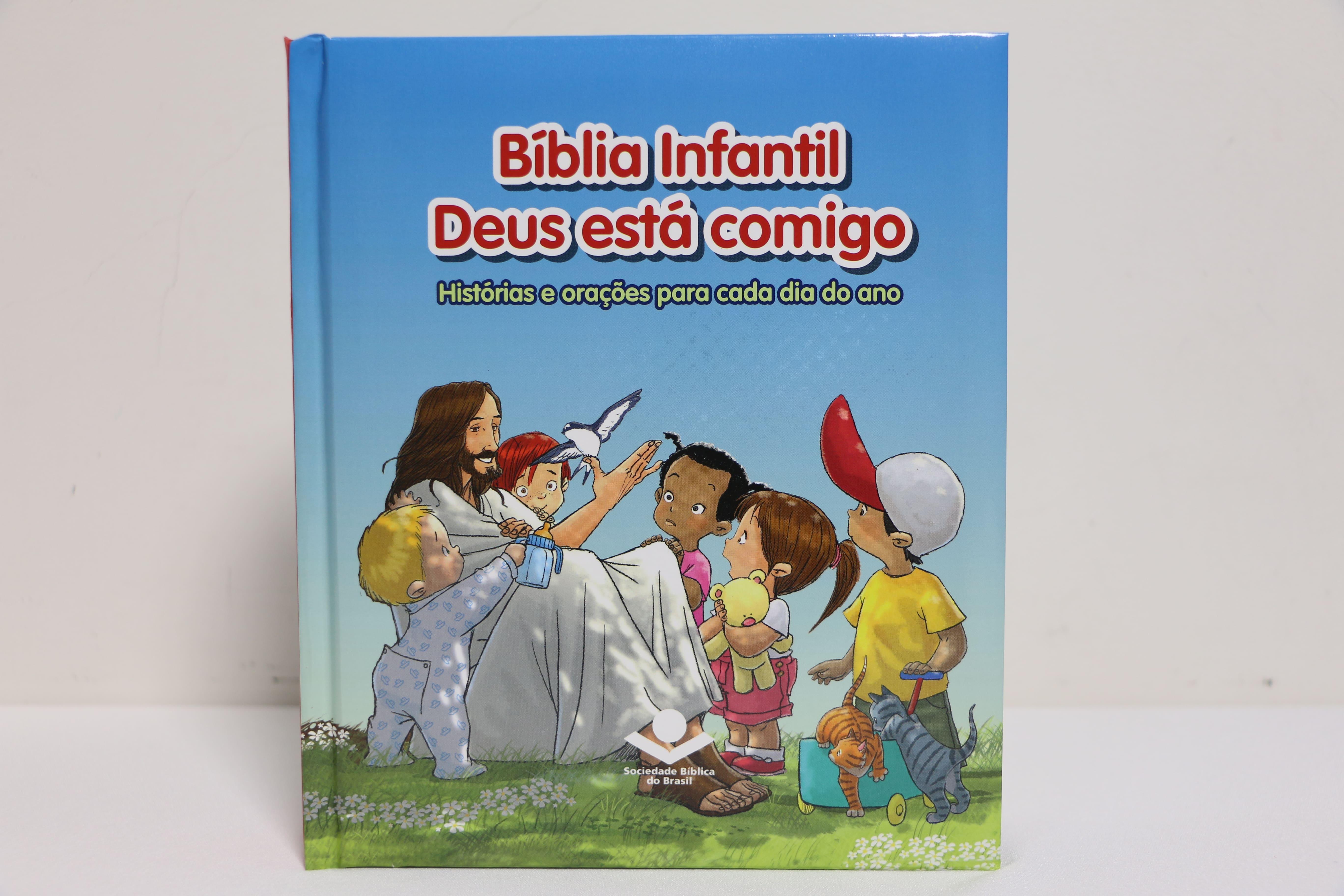 BÍBLIA INFANTIL DEUS ESTÁ COMIGO - SBB - 1º ANO