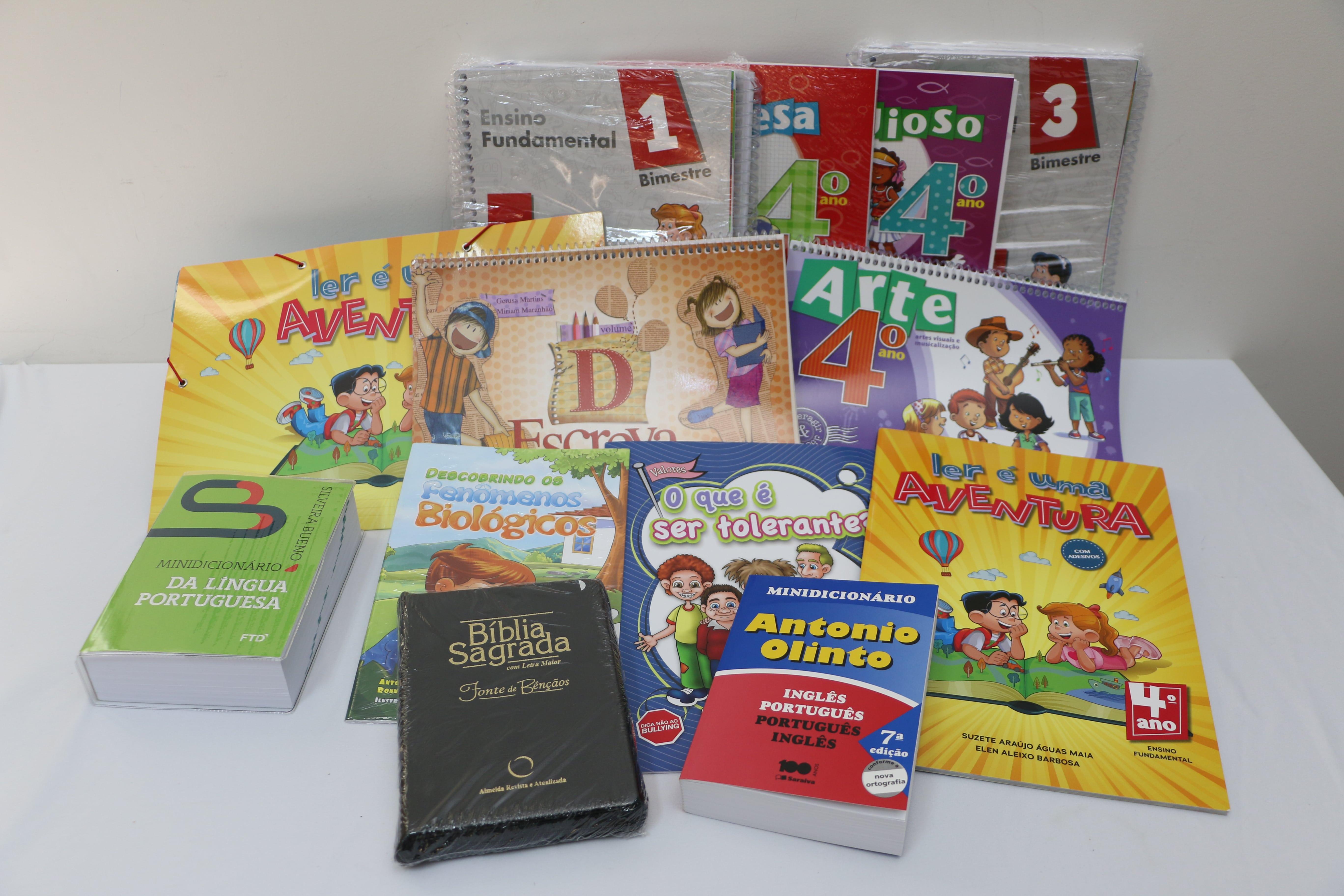 Kit 4° ano - Ensino Fundamental I - Demais escolas