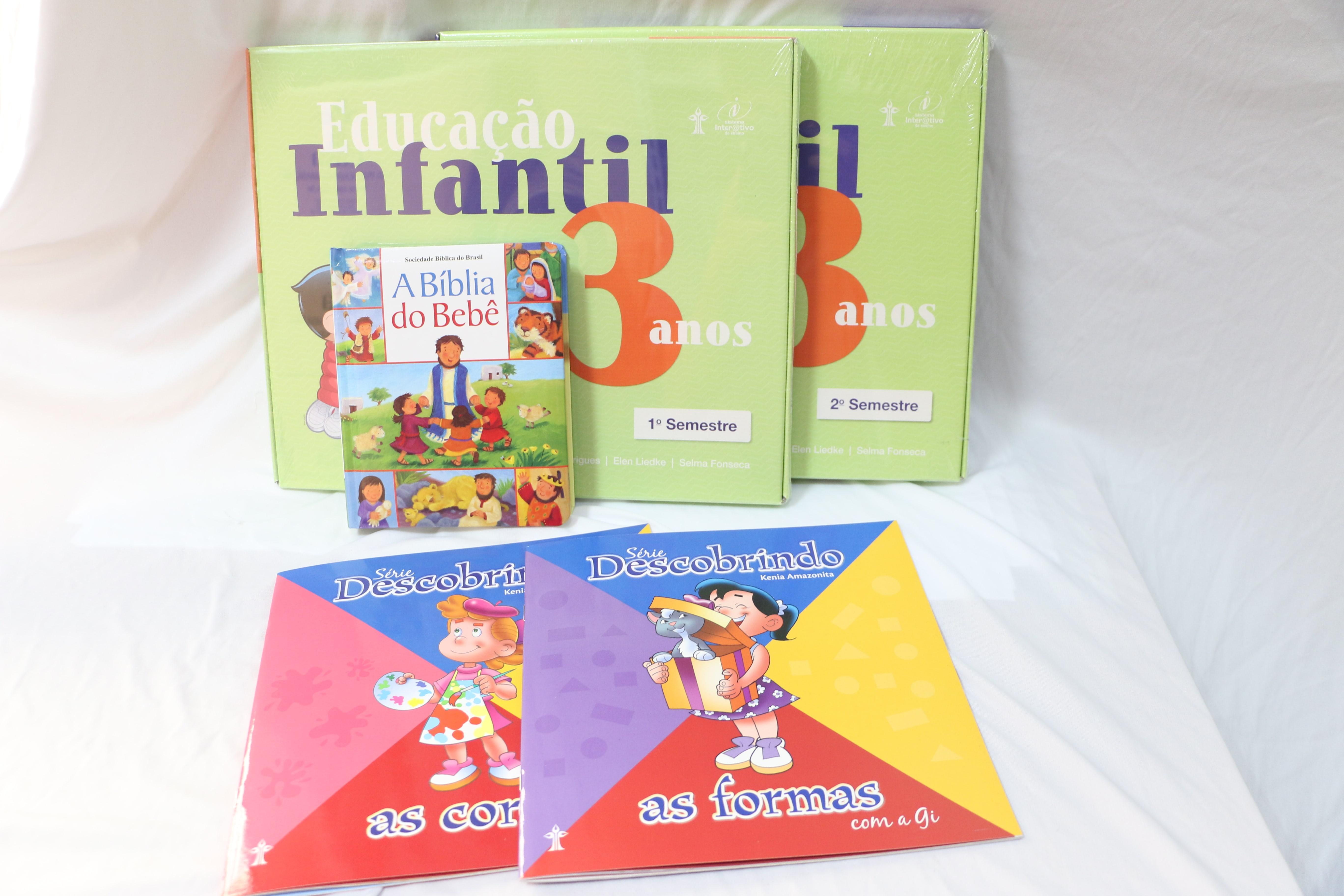 KIT MATERNAL II - EDUCAÇÃO INFANTIL - Escola do Castelo