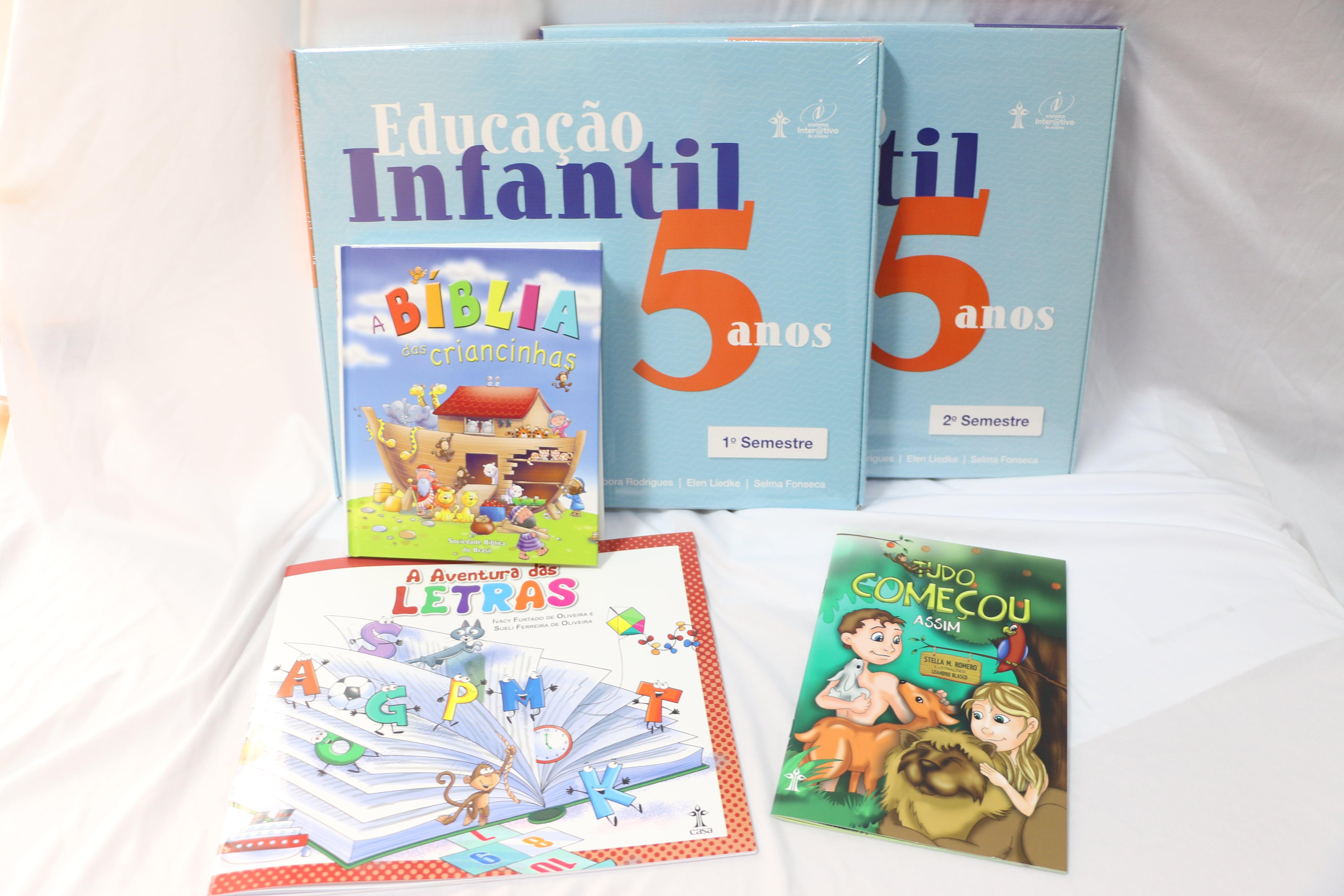 KIT PRÉ II - EDUCAÇÃO INFANTIL - Escola do Castelo