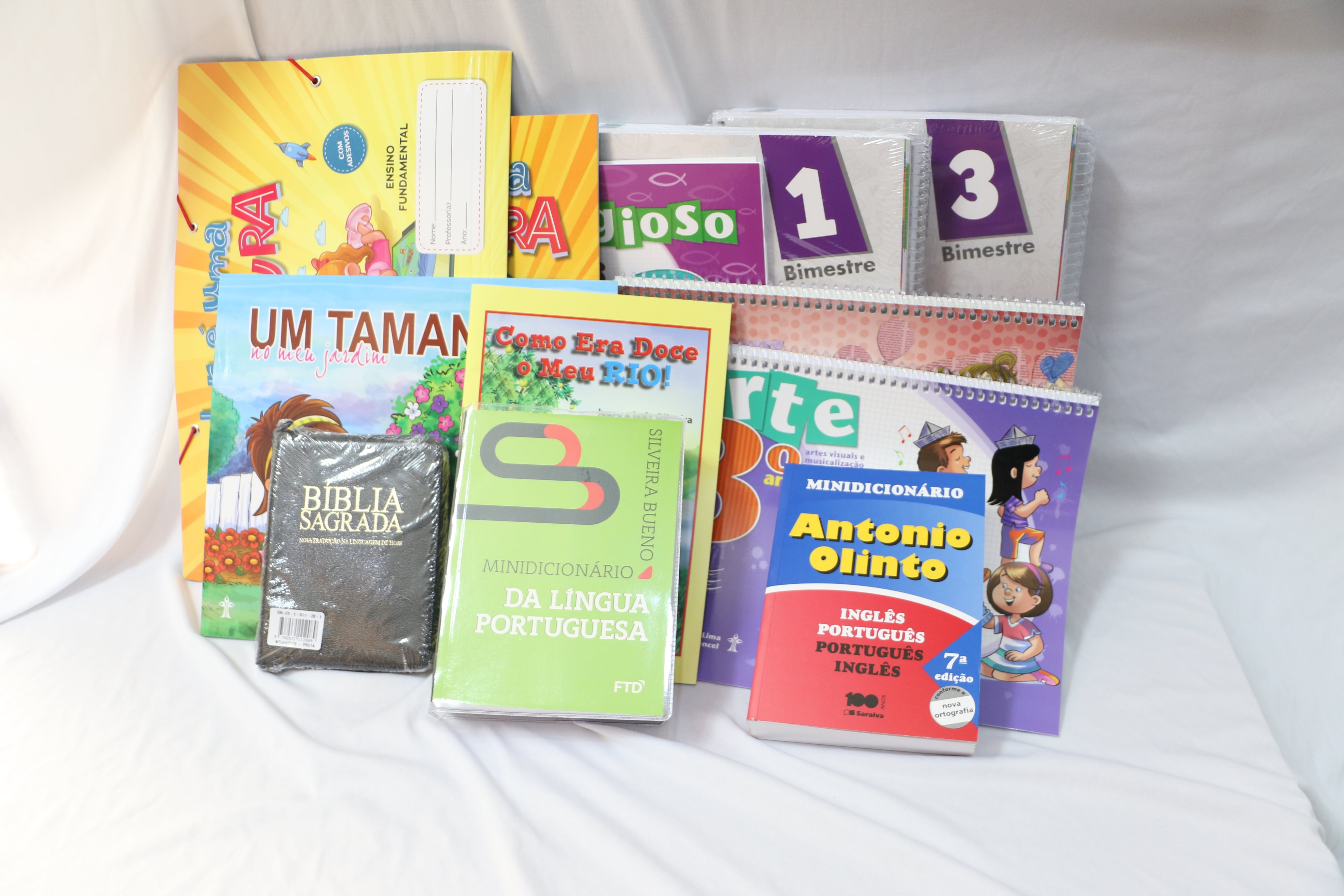 Kit 3° ano - Ensino Fundamental I - Escola do Castelo